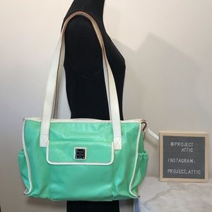Dooney & Bourke Diaper Bag Mint Green XL